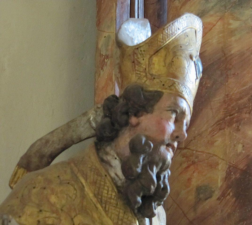 papst mütze geklaut