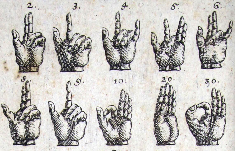 Finger und zeigefinger ausgestreckt kleiner was bedeuten